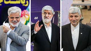 سه داوطلبی که در روز سوم برای انتخابات ریاست جمهوری ایران ثبت نام کردند