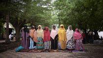 Bamako family celebrates Eid al-Fitr