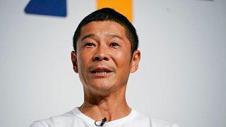 یوساکو مایزاوا، میلیاردر ژاپنی
