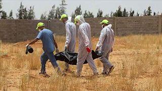 Libya'da toplu mezar