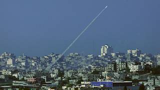 صاروخ تم إطلاقه من قطاع غزة
