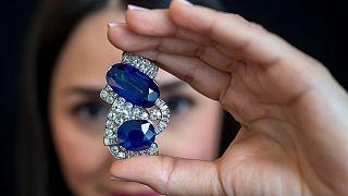 قطعهای از مجموعه جواهرات متعلق به دختر خوانده ناپلئون