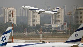 İsrail'in Tel Aviv kenti yakınlarındaki Ben Gurion Havalimanı