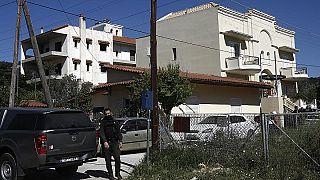 Polizei vor dem Tatort in Griechenland