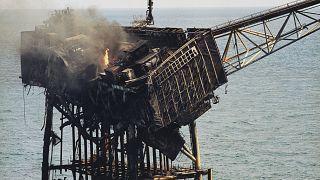Az Északi-tengeri Piper Alpha olajfúrótorony katasztrófája 1988. július 8-án