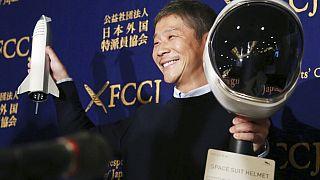 Maezava Juszaku japán milliárdos 2018-ban (illusztráció)