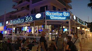 """Deutsche Eck"" an der Playa de Palma auf Mallorca"