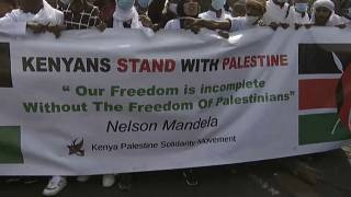 Support for Palestinians in Senegal, Libya, South Africa and Kenya