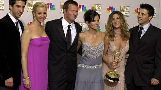 """file photo, the cast of """"Friends,"""""""