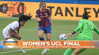 Barcelona and Chelsea female teams will play Championship's final in Gothenburg, Sweden