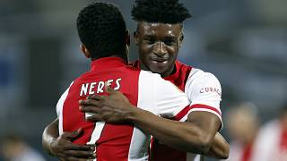 African Players score Ajax closer to season win in penultimate match