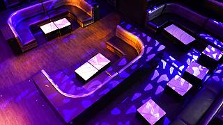 Ein wegen der Corona-Pandemie geschlossener Nachtclub in Miami, Florida, 14.10.2020