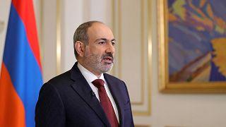 AFP PHOTO / PRESS SERVICE OF ARMENIA'S GOVERNMENT