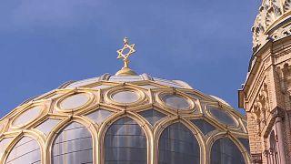 Imagen de archivo de una sinagoga
