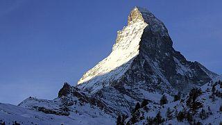 Das Matterhorn, dort ist Unternehmer Haub verschollen