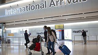 Archivo. Llegadas internacionales en el aeropuerto londinense de Heathrow