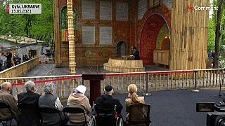 La nouvelle synagogue de Babi Yar.