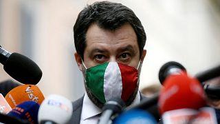 İtalya eski İçişleri Bakanı Matteo Salvini