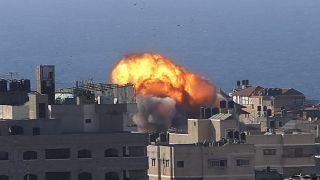 في غزة تحت القصف الإسرائيلي خوف وقلق ولا نوم