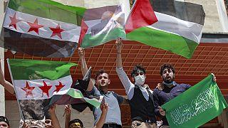 Manifestações pró-Palestina alastram-se pelo mundo