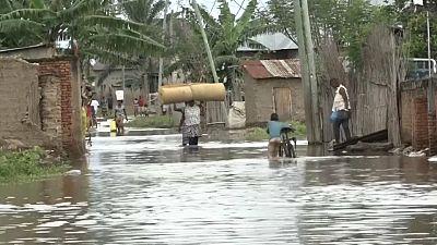 L'Ouest de Bujumbura de nouveau sous l'eau