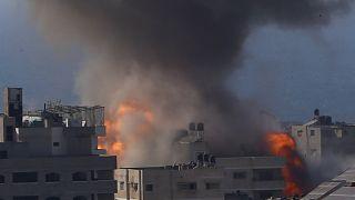 Sok halott az újabb izraeli légicsapásban