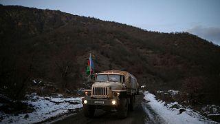 نیروهای ارتش آذربایجان در کلبجر