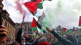 Διαδηλώσεις υπέρ των Παλαιστινίων