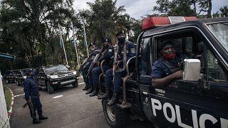 Kinşasa'da polis gücü