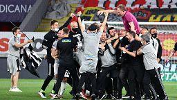 Süper Lig şampiyonu bir gol farkla Beşiktaş oldu