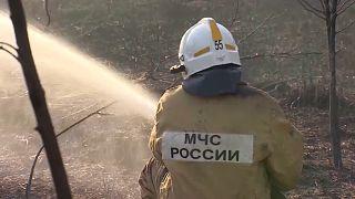 Incêndios na Rússia
