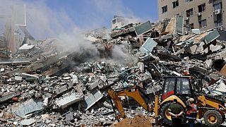 Israël pilonne Gaza, les roquettes du Hamas touchent la banlieue de Tel Aviv
