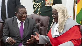 Zimbabwe court orders chief justice to retire in blow for Mnangagwa