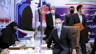 Eski Meclis Başkanı Ali Laricani, cumhurbaşkanlığı seçimlerine adaylık başvurusunda bulundu