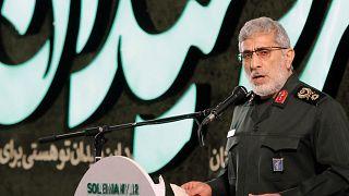 إسماعيل قاآني قائد فيلق القدس في الحرس الثوري الإيراني