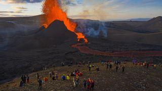 """بركان """"فاغرادالسفجال""""_ أيسلندا"""
