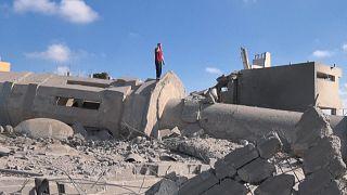 Moschee im Gazastreifen von Rakete getroffen