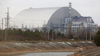 سازه محافظ راکتور نیروگاه هستهای چرنوبیل