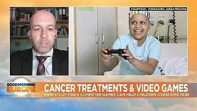 Children with cancer gaming