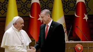 Papa Francis, Cumhurbaşkanı Recep Tayyip Erdoğan