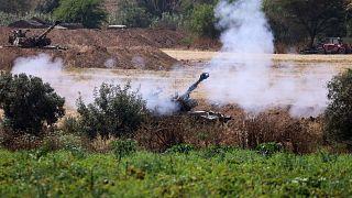 L'artillerie israélienne poursuit ses tirs en direction de Gaza