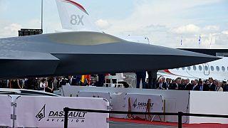 Yeni nesil savaş sistemleri kapsamında üretilecek uçağın bir modeli