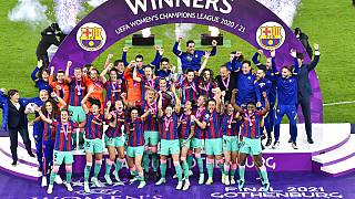 Champions League Γυναικών: Θρίαμβος της Μπαρτσελόνα
