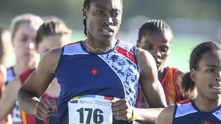 Güney Afrikalı atlet Caster Semenya