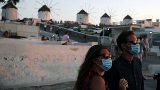 A járvány utáni fellendülést várják Míkonosz vendéglátósai