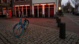 محله ردلایت آمستردام، محل کار کارگران جنسی