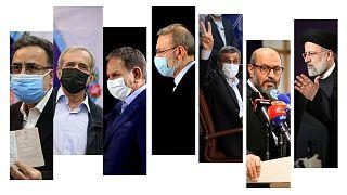 تعدادی از کاندیدهای انتخابات ریاست جمهوری ایران