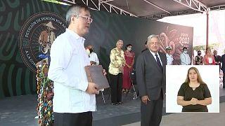 Momento de la ceremonia en Torreón