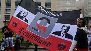 Anti-Corona-Proteste in Berlin, 29. August 2020