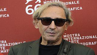 Franco Battiato alla Mostra del Cinema di Venezia del 2009.